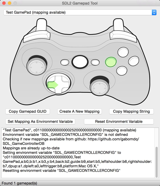 SDL2 Gamepad Tool by General Arcade